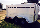 Commercial Bumper Pull Livestock Trailers