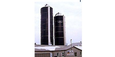Transformed Glass Liner Steel Silo