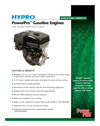 Hypro PowerPro Gasoline Engines Brochure