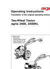 Two-wheeled Tractors Operating Instructions- Brochure