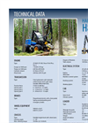 Rottne - Model H8 - Harvester Brochure