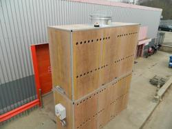 Potato Drying Wall Plenum Fan Box
