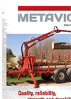 Metavic - Model M95 - Tractor Loader - Brochure