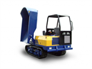 Canycom - Model S25A - Pivot Dump Crawler Carrier