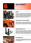 Kubota - Model TLB Series - Tractor Brochure