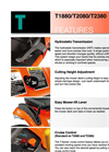 Kubota - Model T Series - Mowers Brochure