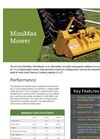 Vrisimo MiniMax - Model Sizes: 48, 60, 72 - Flail Mower Brochure