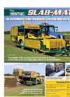 Kesmac - Model SLAB-MATIC 3000 - Automatic Slab Sod Harvester Brochure