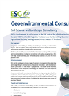 Soil and Landscape Science Service – Brochure