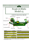 15 Grain Roaster Datasheet