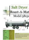5815SS Commercial Salt Dryer Roasters Datasheet