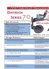 Dietrich - Model Series 70 MSD - Auto Reset Slurry Injector Datasheet