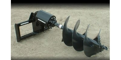 Auger Planetary Drive for Skid Steers