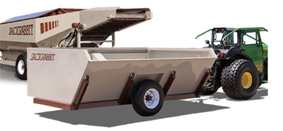 JackRabbit - Side Dump Shuttle Cart
