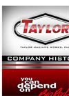 Taylor Machine Works, Inc.- Brochure