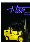 Model P-Series - Pneumatic Forklifts Brochure