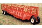 Apache - Feeder Wagon with 2 Back Axles