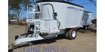 Laird - Model VR-675CUFT - Vertical Mixer Trailermount (Twin-Screw)