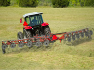 Massey Ferguson - Model 3900 Series - Wheel Rakes 17.1 - 35 Raking Width