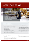 Weldco-Beales - Model TR - One-Way and Two-Way Plows - Brochure