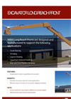 Weldco Beales - Long Reach Excavator Fronts - Brochure