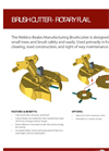 Weldco-Beales - Model ERF - Rotary Flail Mowers Brush Cutter Brochure