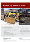 Weldco-Beales - Motor Grader Hydraulic Angle Blades - Brochure
