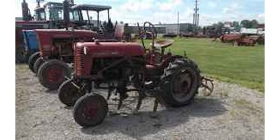 IH - Model Cub Series - Tractor with Cultivator
