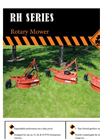 Single Spindle Rotary Mowers RH Series- Brochure