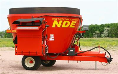 NDE - Model 1502, 1502H - Side Door Vertical TMR Mixer