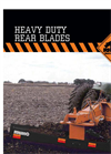 Heavy Duty Rear Blades- Brochure