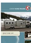 Horse Trailer Brochure