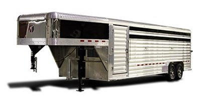 Kiefer - Model Deluxe II Wide - Livestock Trailers