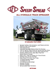 All Hydraulic Truck Spreader - Datasheet