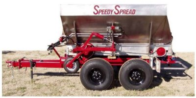 GFE - Model 509-H - Trailer Spreader for Fertilizer and Lime