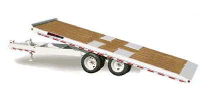 Model DHT8022N20 - Deckover Hydraulic Tilt Dual Wheel Trailers