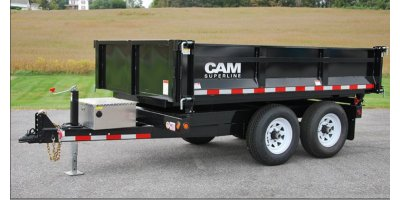 CAM - Model 3WDP Series - 3-Way Deckover Dump Trailer