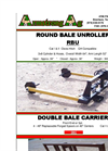 ArmstrongAg - Model RBU - 3 Point Rear Round Bale Unroller Datasheet