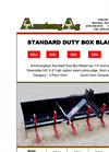 ArmstrongAg - Model BB - Standard Duty Box Blade Datasheet