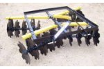 ArmstrongAg - Model MD- 3-Point - Medium Duty Disc Harrow