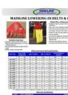 Mainline Lowering‐In Belts & Hooks Brochure