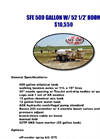 SFE500 Gallon - Pull Type Sprayer Brochure