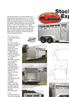Stockman Express - Aluminum Bumper Pull Stock Trailer Brochure