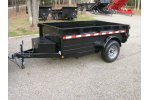 Trusted Trailers - Model Griffin 5x8 - Dump