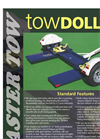 Master Tow - Model 77T & 80THD - Tow Dollies - Brochure