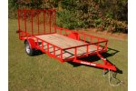 Model UT6410A, UT6412A, UT6414AT, UT6416AT - Angle Iron Trailer
