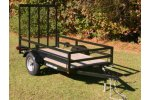 Master Tow - Model UT48, UT58, UT510 - Tubular Steel Trailers