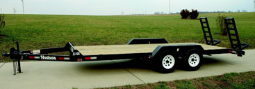 Hudson Bros. - Model HSE Deluxe - 3 1/2 Ton Capacity (14) - Medium Duty Equipment Trailer