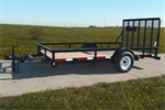 Hudson Bros. - Model Pro Series HSLG 12 - 3500 Lb. Capacity - Single Axle Landscape Trailer