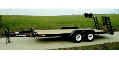 HSE - Model Deluxe - 4 ton Capacity Medium Duty Equipment Trailer